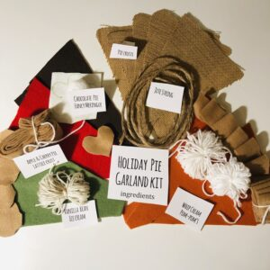Holiday Pie Garland Kit